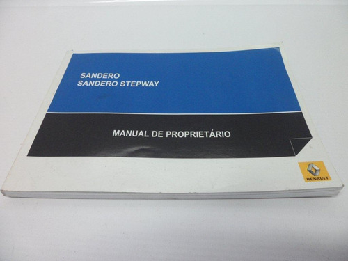 manual proprietário condutor sandero stepway 08-13 original