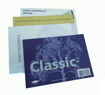 manual proprietario corsa classic original em branco