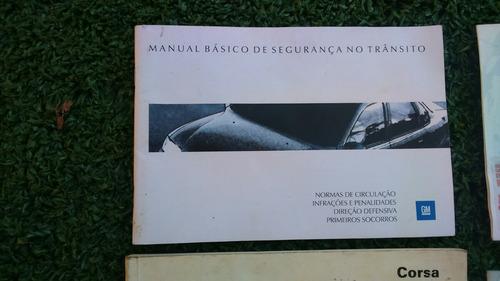manual proprietário e agregados gm corsa gl 1997 original