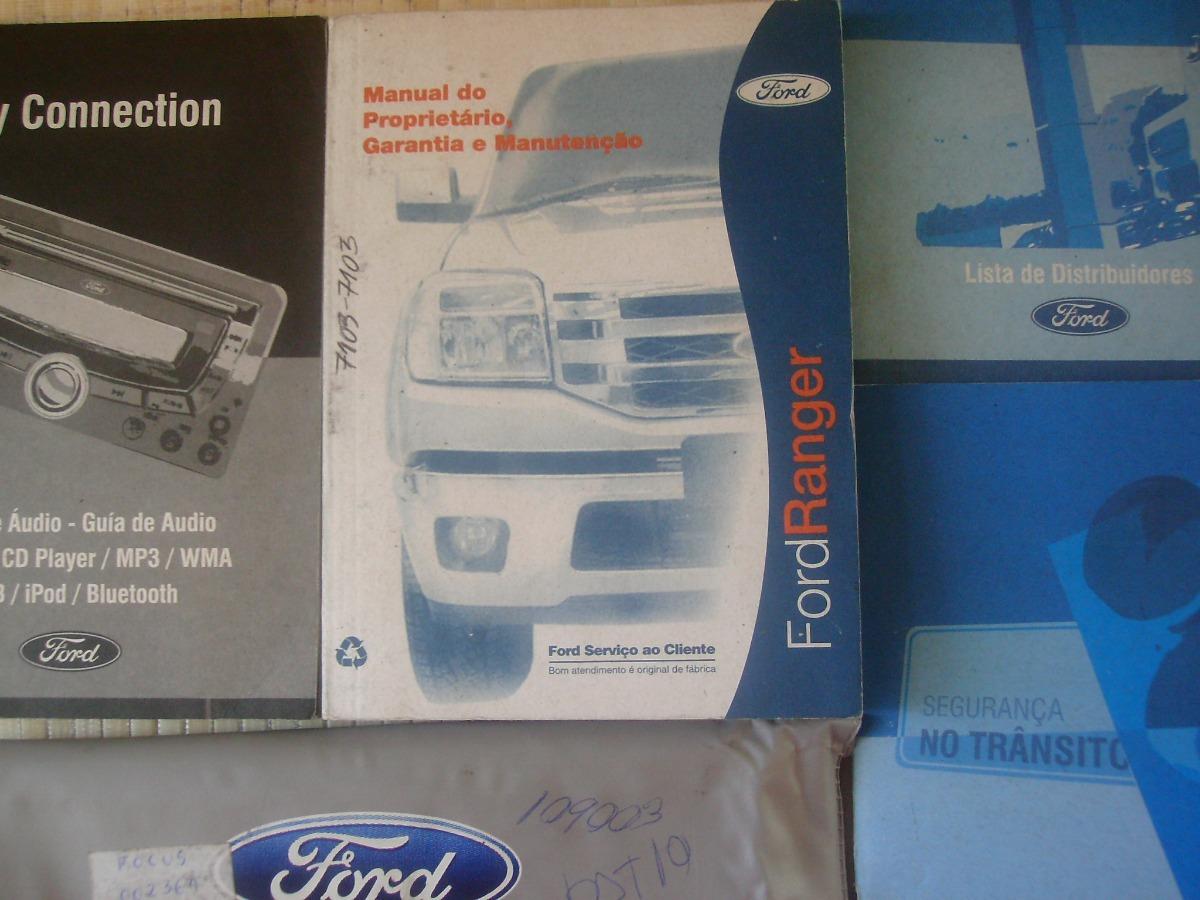 manual proprietário ford ranger 2010 completo ident.em branc. Carregando  zoom.