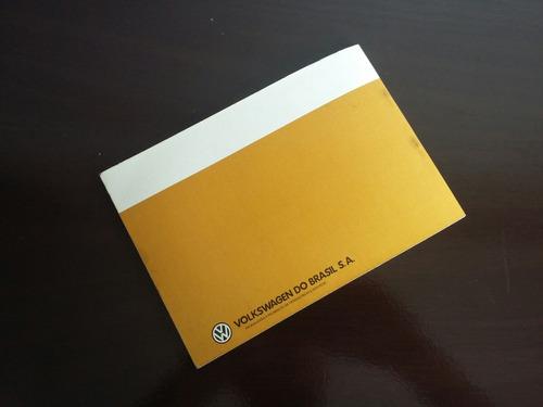 manual proprietário gol 1985