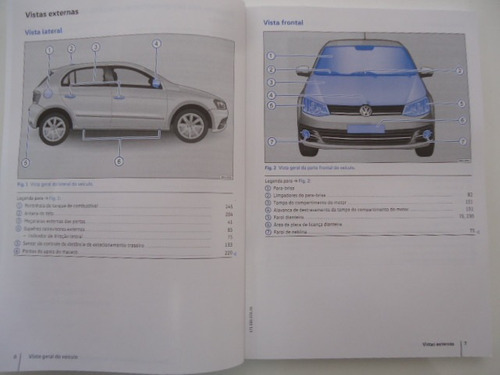 manual  proprietário gol g7 original novo
