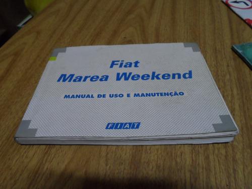 manual proprietario marea sw weekend elx 99/