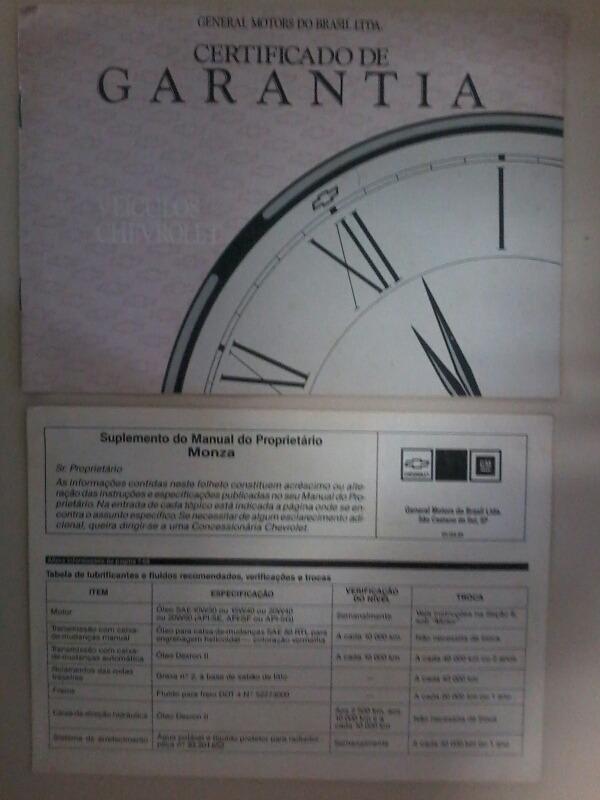 manual propriet rio monza 91 r 100 00 em mercado livre rh produto mercadolivre com br