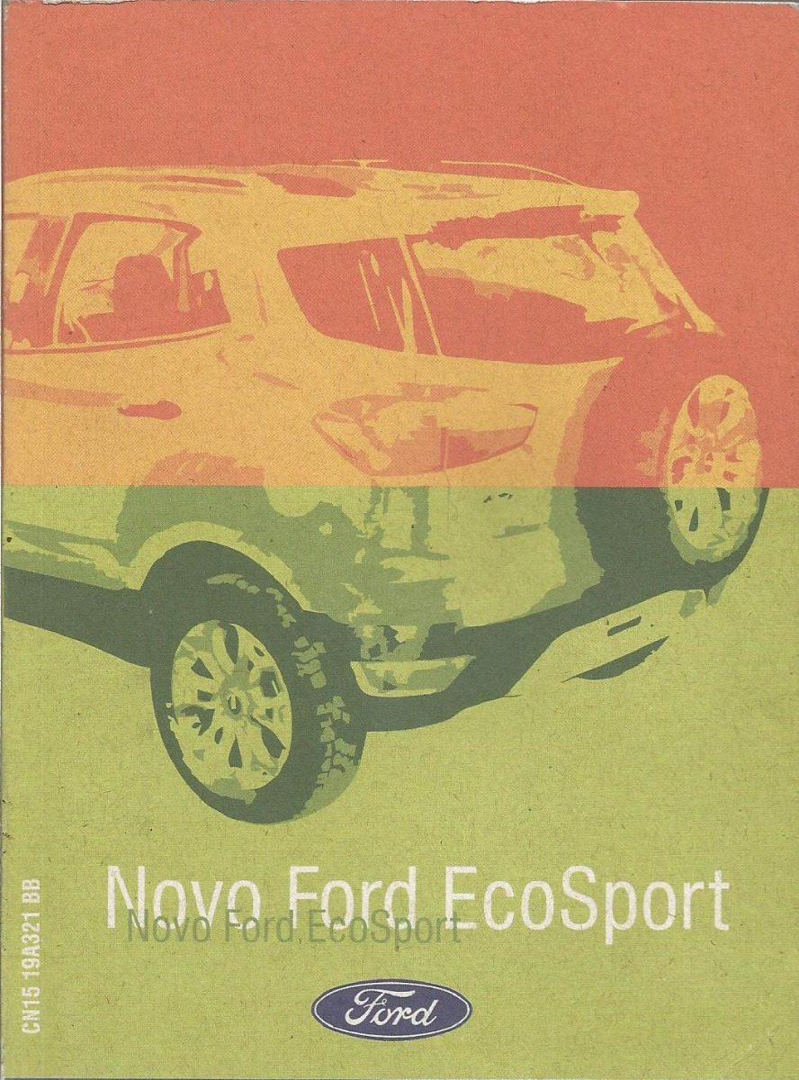 manual propriet rio novo ecosport 2012 13 c suplements e cap r rh produto mercadolivre com br manual proprietario ecosport 2013 manual do proprietario ecosport 2018