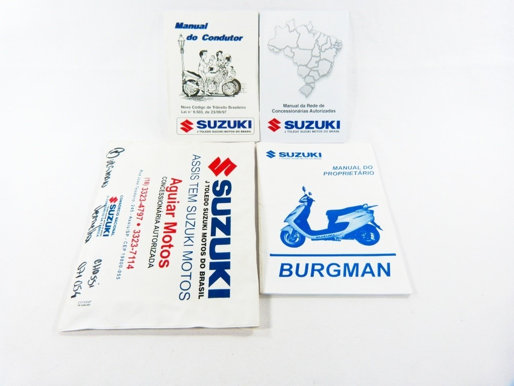 manual proprietario suzuki burgman 125 2008. Carregando zoom.