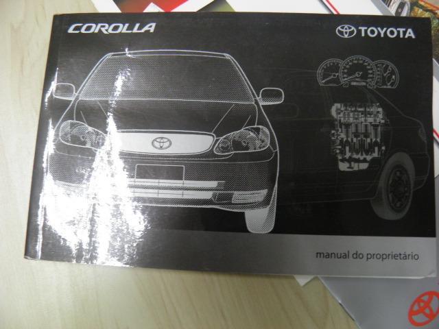 manual propriet rio toyota corolla 2003 completo r 280 00 em rh produto mercadolivre com br 2003 Toyota Corolla Serpentine Belt Diagram 2003 Toyota Corolla Fuse Diagram
