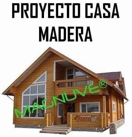 Manual Proyecto Construye Casas Caba As Madera Planos