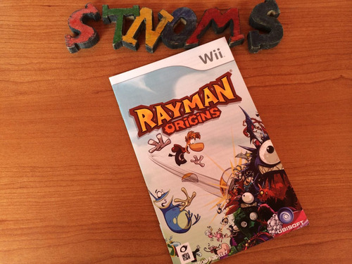 manual / rayman origins / wii