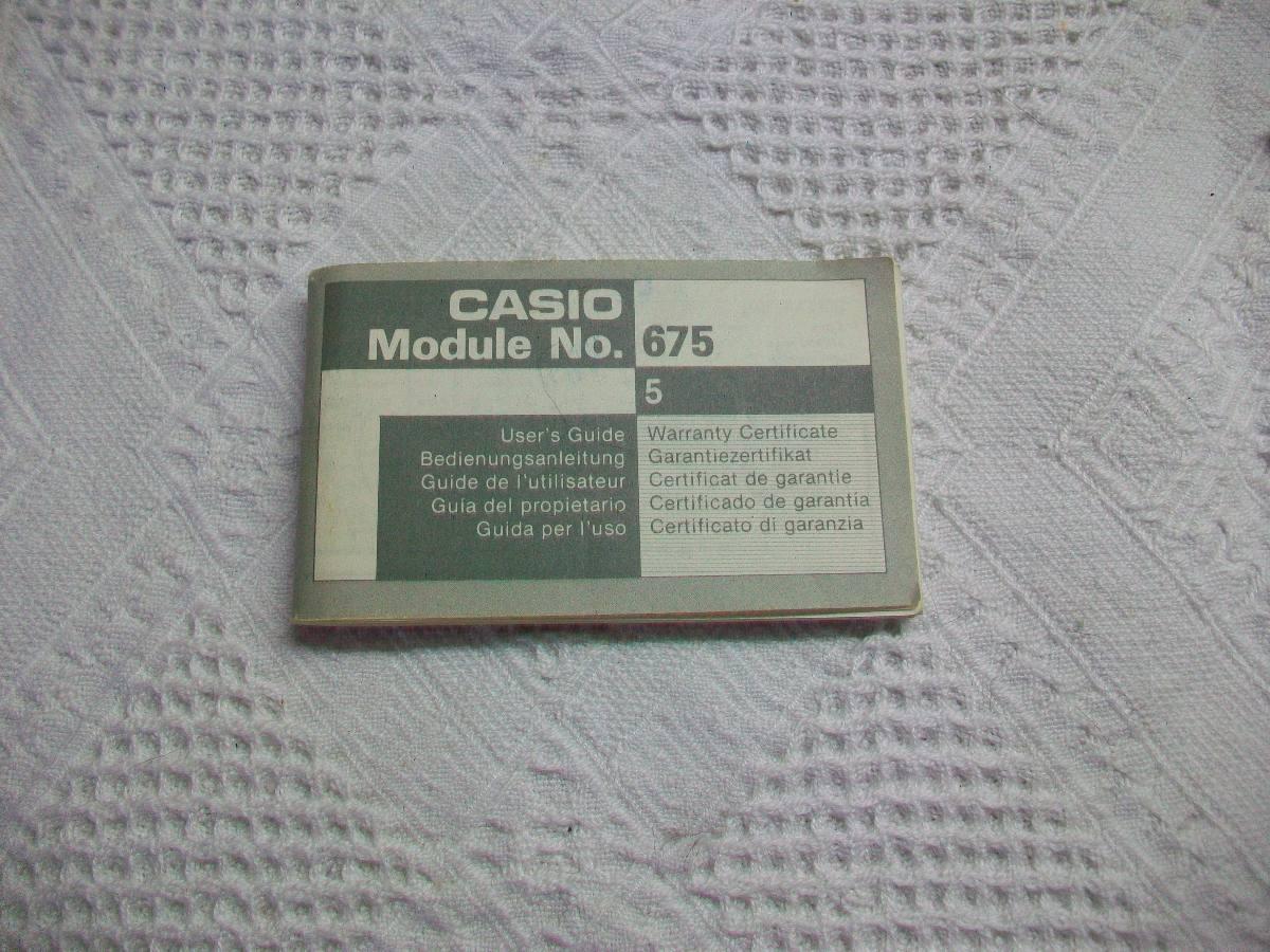 fcc02535cfbe manual reloj casio telememo 1990 instrucciones. Cargando zoom.