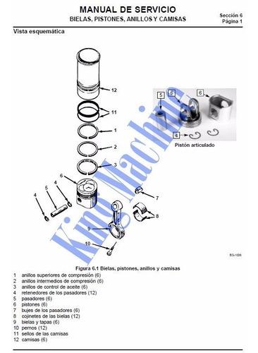 manual reparación motor diesel navistar international dt466e