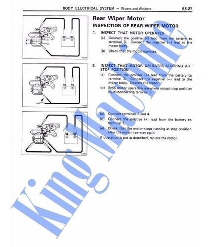 manual reparación toyota land cruiser fj62 hj62 bj62 88-1992