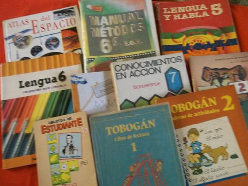 manual santillana primaria lote 10 libros kapelusz oferta