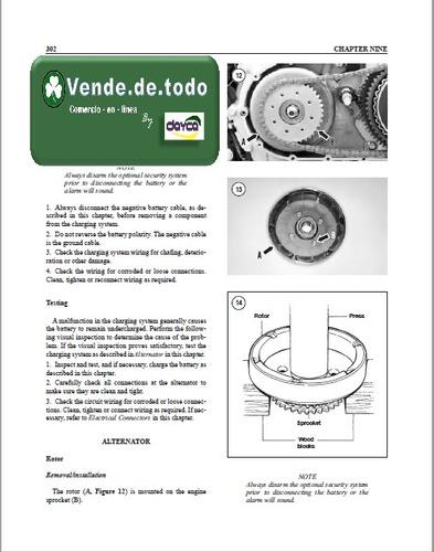 manual servicio reparacion moto harley davidson sportsters