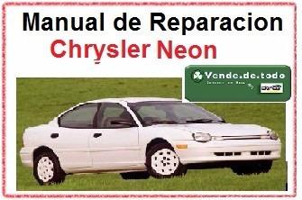 manual servicio reparacion & taller chrysler neon 97 -99