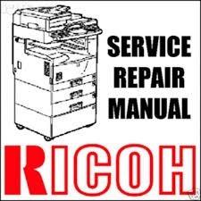 manual servicio ricoh aficio 2035 en  español