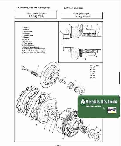 manual  servicio taller reparacion moto yamaha xs 650 xs650