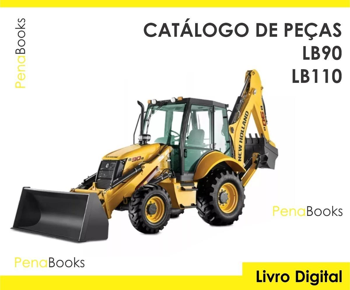 manual serviço + catálogo peças retro new holland lb90 lb110. Carregando  zoom.