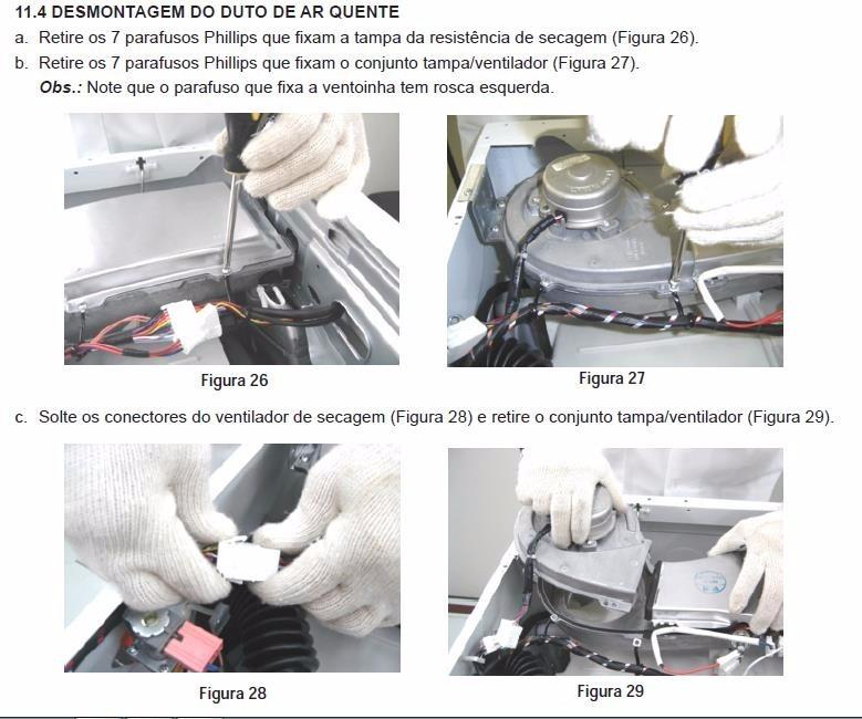 manual servi o lava seca electrolux lse11 pdf frete gr tis r 12 rh produto mercadolivre com br manual lava e seca electrolux lse11 manual electrolux eco turbo lse11