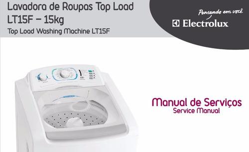 manual serviço lavadora electrolux lt15f pdf envio digital f