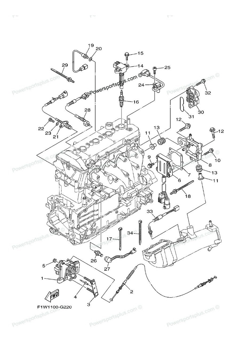 Diagram Of 1969 6r69m Johnson Outboard Lower Unit Group Diagram And