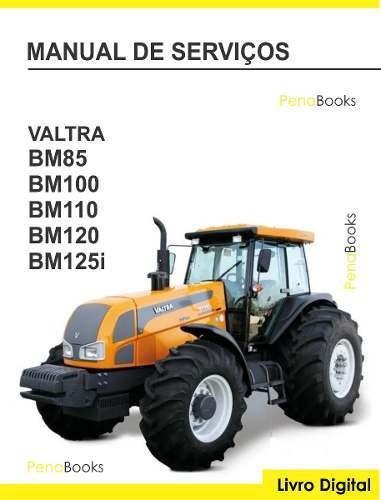 manual serviço oficina tratores valtra bm 85 100 110 120 125
