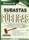 manual subastas publicas(libro el procedimiento administrati
