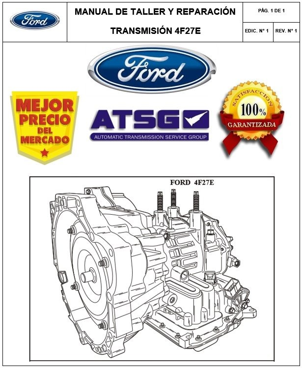 ford 4f27e transmission manual