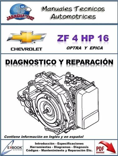 manual taller caja chevrolet optra en español