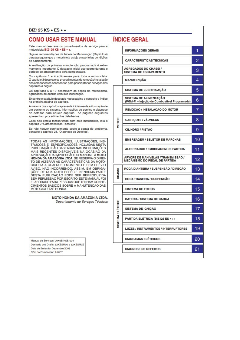 manual taller despiece reparacion honda biz 125 ks es 89 00 en rh articulo mercadolibre com ar Escapamento Curto Biz 125 Biz 125 Tunada