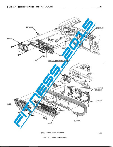 manual taller diagrama electrico plymouth belvedere 1970