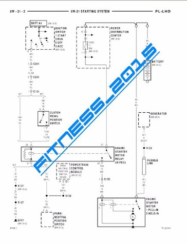 manual taller diagramas dodge neon 1997