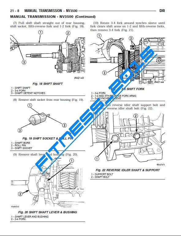 Manual Taller Diagramas Dodge Ram 2002 - 2003 1500-3500