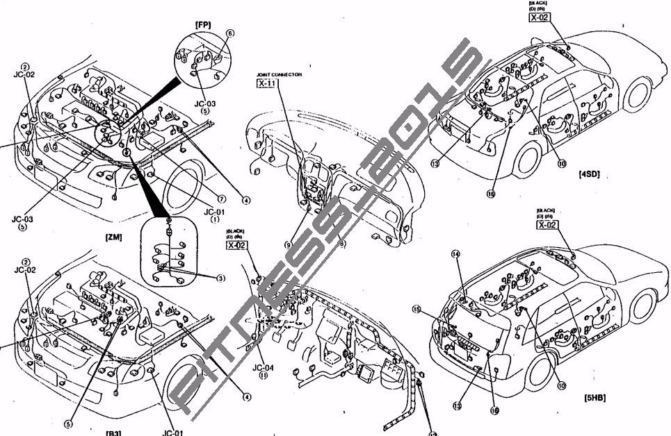 manual taller diagramas e  ford laser 1998-2004 espa u00f1ol