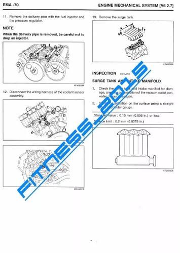 manual taller diagramas e. hyundai santa fe 2000 - 2006