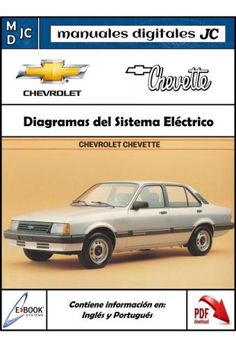 manual taller diagramas electrico chevrolet chevette 1985