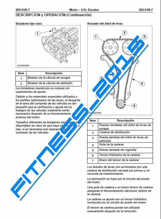 Manual Taller Diagramas Electrico Ford Ecosport Español Full - $ 200 ...