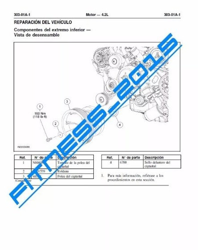 manual taller diagramas electricos ford fx4 07-2008 español