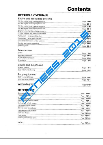 manual taller diagramas fiat bravo y brava 1995 - 2000