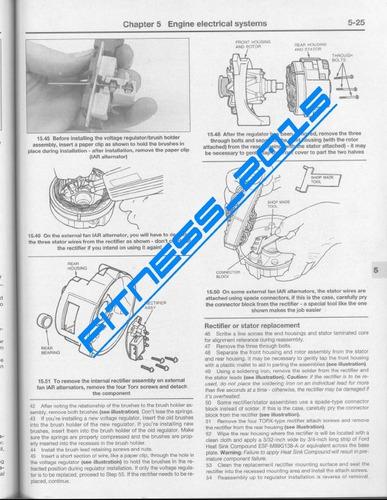 manual taller diagramas ford f150 f250 f350 1980 - 1994