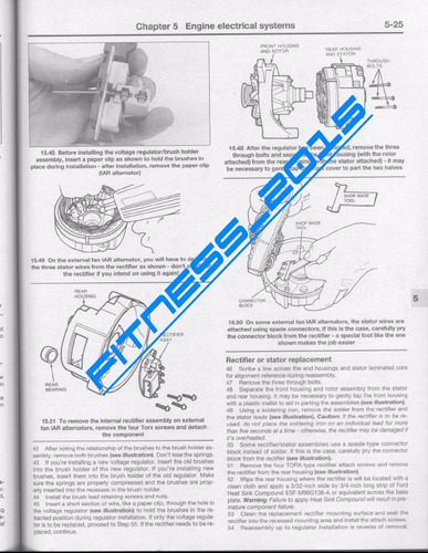 Manual Taller Diagramas Ford F150 F250 F350 1980 - 1994 ...