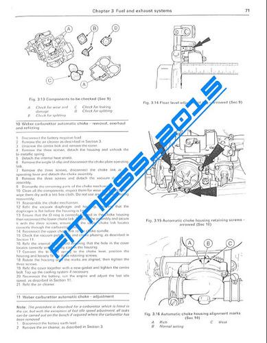 manual taller diagramas ford mustang capri 1974 - 1987
