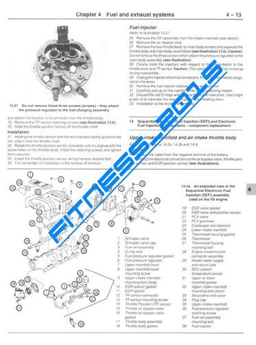 manual taller diagramas ford mustang capri 1979 - 1992