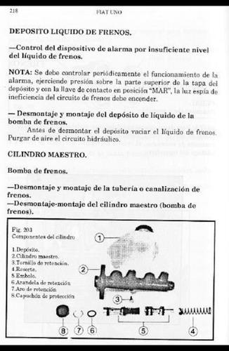 manual taller fiat uno regatta mecanica reparacion español