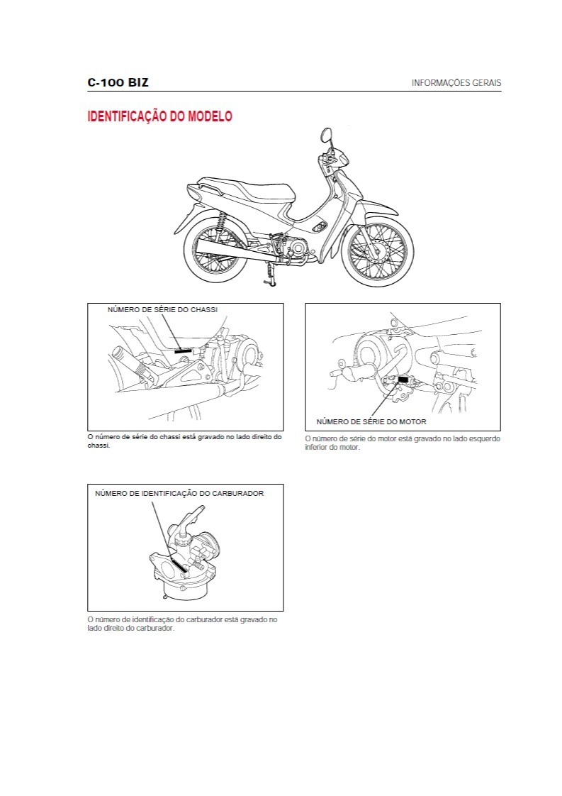 manual taller honda biz 100 smash bit trip corven motome 110 99 rh articulo mercadolibre com ar manual tecnico honda biz 100 Honda Biz 2004