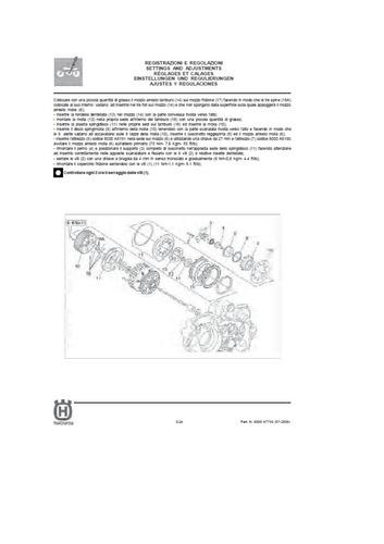 manual taller husqvarna 610
