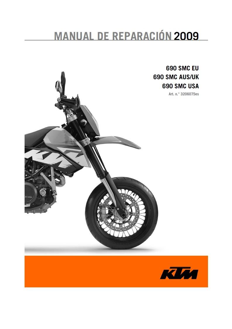 Manual Taller Ktm 690 Smc Usa 2009 13900 En Mercado Libre 625 Wiring Diagram Cargando Zoom