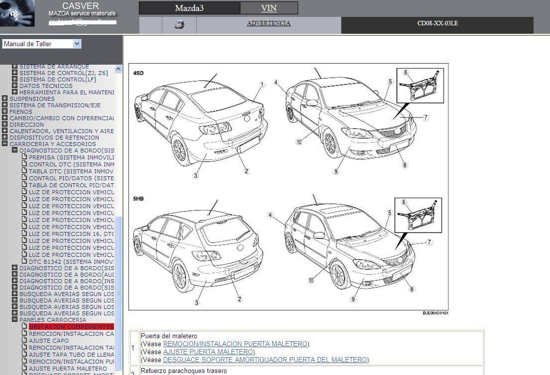mazda 323m owners manual pdf