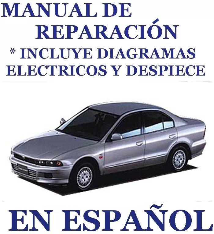 manual taller mitsubishi galant 97 03 planos elect espa ol bs rh articulo mercadolibre com ve 1998 Mitsubishi Galant Mitsubishi Galant