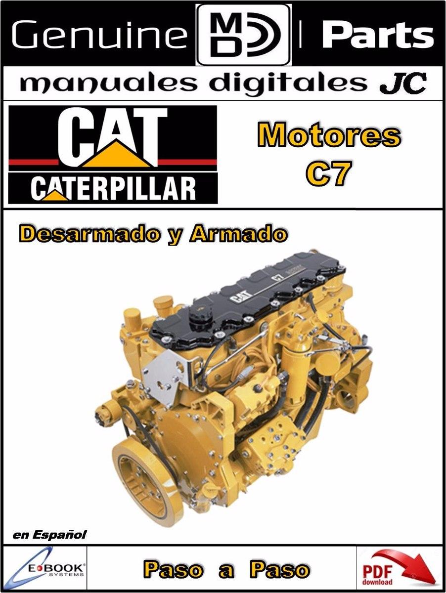 manual taller motor caterpillar c7 en espa ol bs 1 450 00 en rh articulo  mercadolibre com ve cat c7 shop manual cat c7 manual transmission